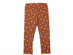 Noa Noa Miniature leggings print brown flower